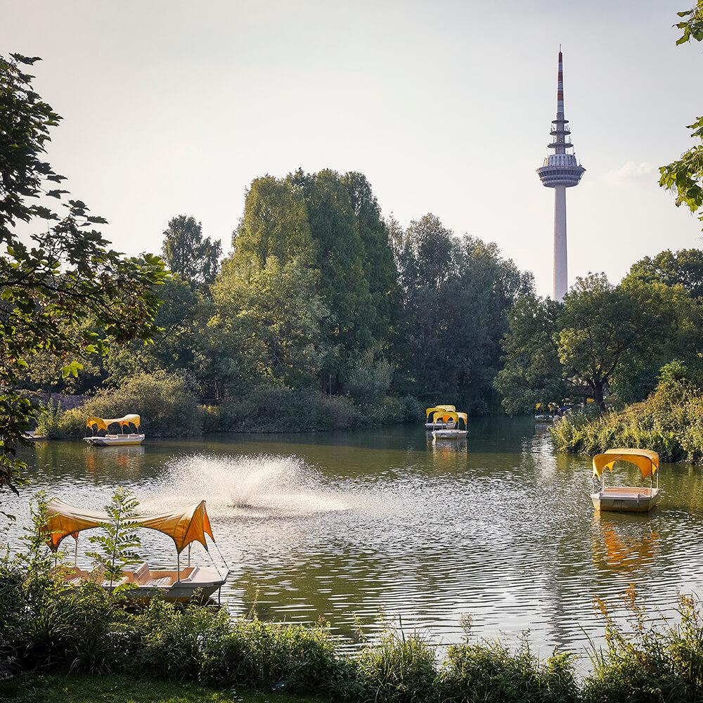 Kutzerweiher im Luisenpark Mannheim